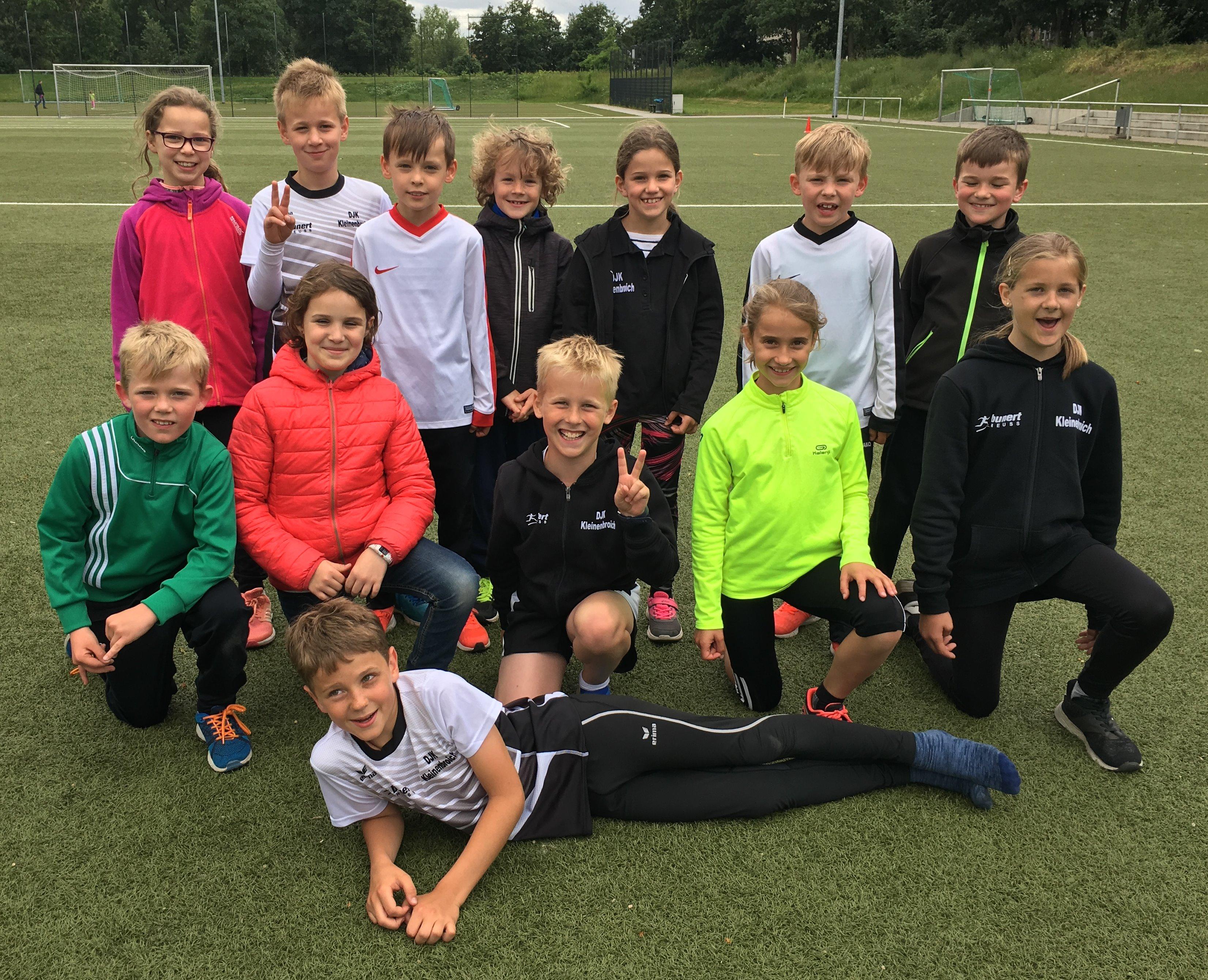 Team U10 in Odenkirchen