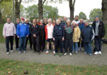Die 4 Mannschaften des traditionellen Seniorencups Wurf